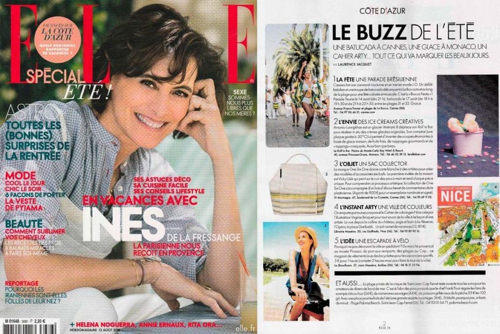 Elle France 2016